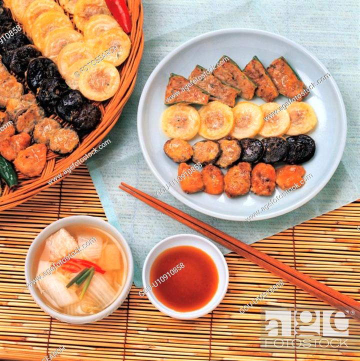 Stock Photo: traditon, cuisine, korea culture, korean cuisine, korean food, food.