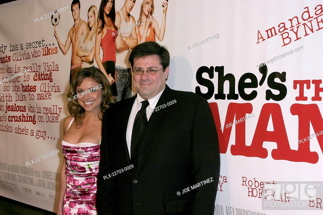 Stock Photo: She's the Man (Premiere) Christine Lakin, Andy Fickman 03-08-2006 / Mann Village Theater / Westwood, CA / Dream Works Pictures / Photo by Joe Martinez.