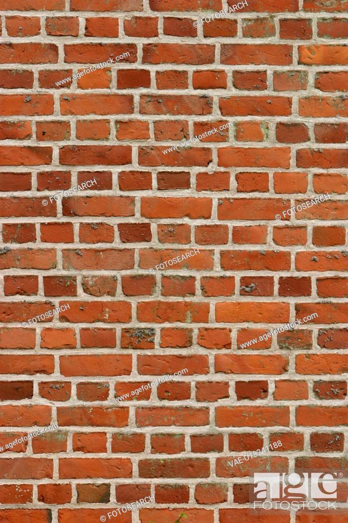 Stock Photo: brick, structure, wall, appearance, construction, arrangement.