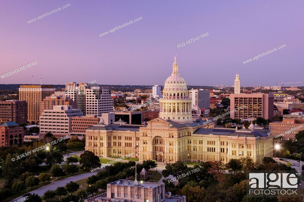 Stock Photo: Texas State Capitol.