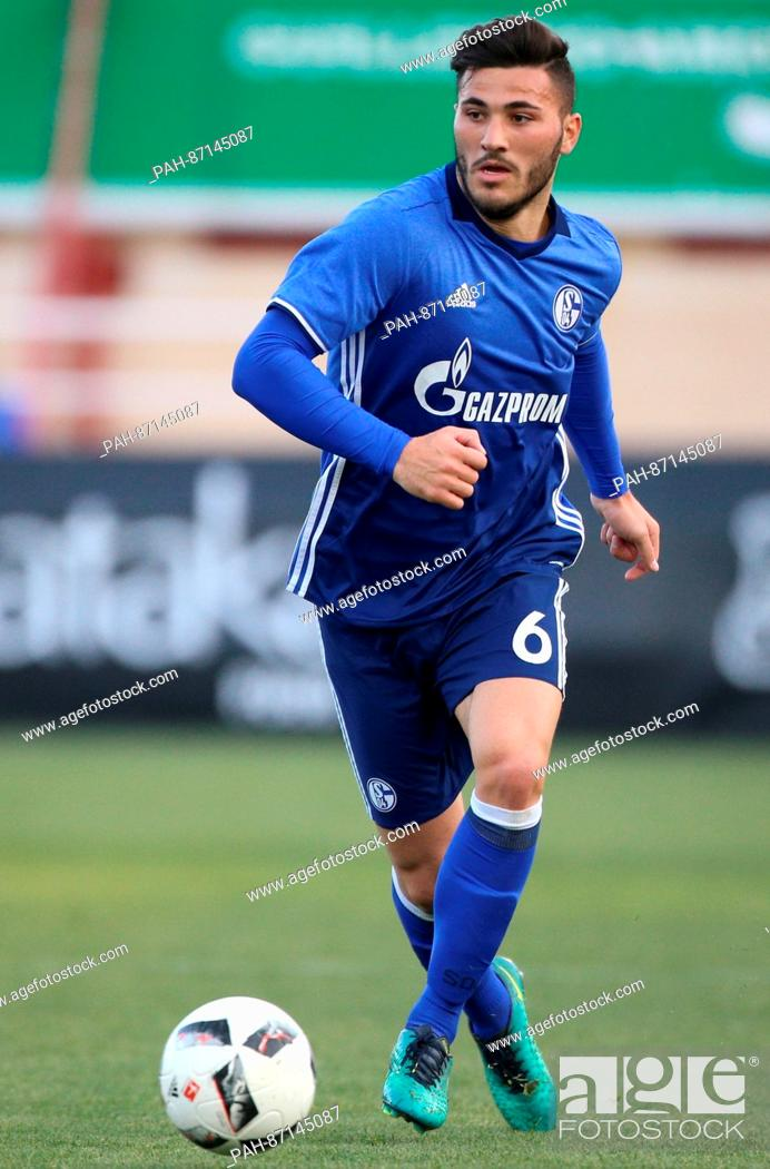 Schalke's Sead Kolasinac in action during the international club