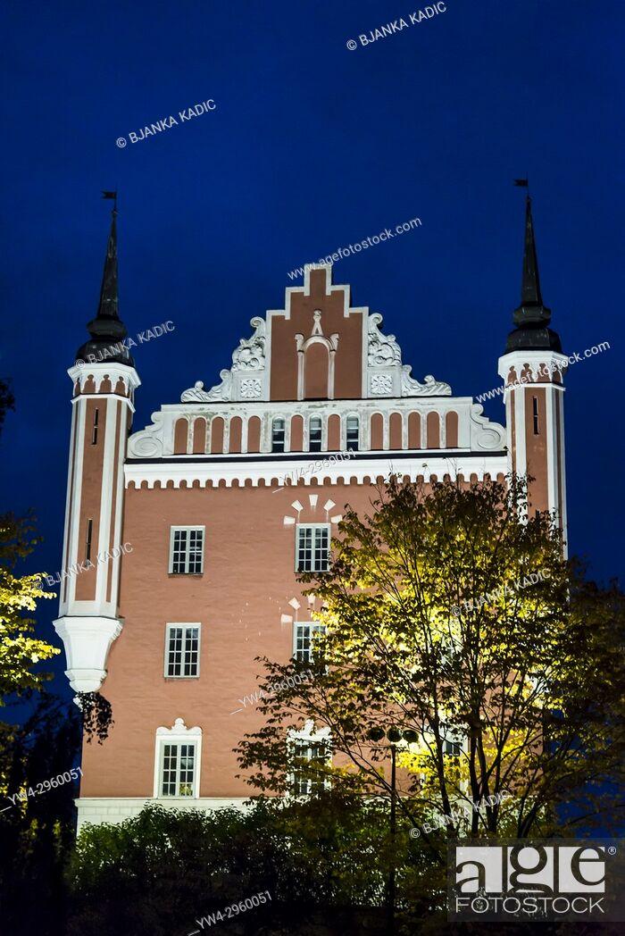 Stock Photo: Admiralty House, island of Skeppsholmen, Stockholm, Sweden.
