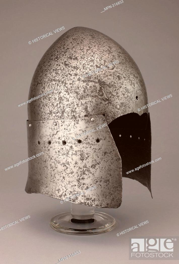 Stock Photo: Great Sallet - late 14th/early 15th century - Italian or Mediterranean in the Italian style. Steel. 1375 - 1425. Italy.