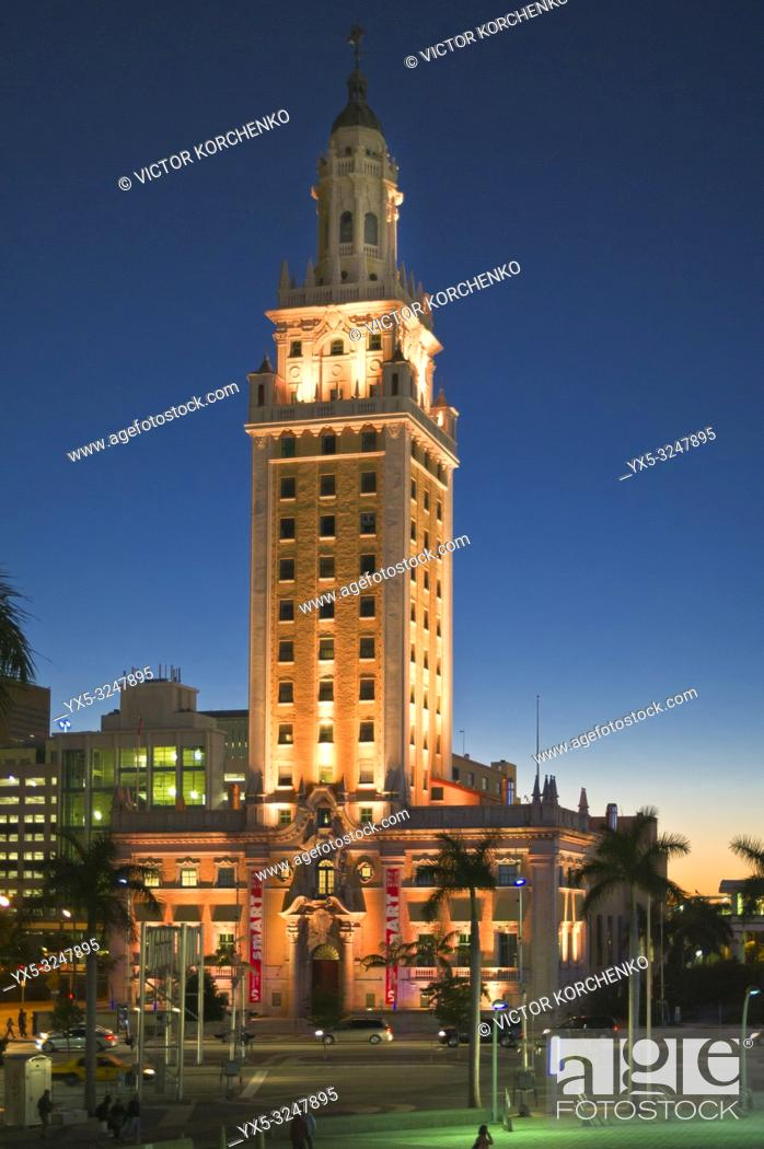 Stock Photo: Historic building in Miami.