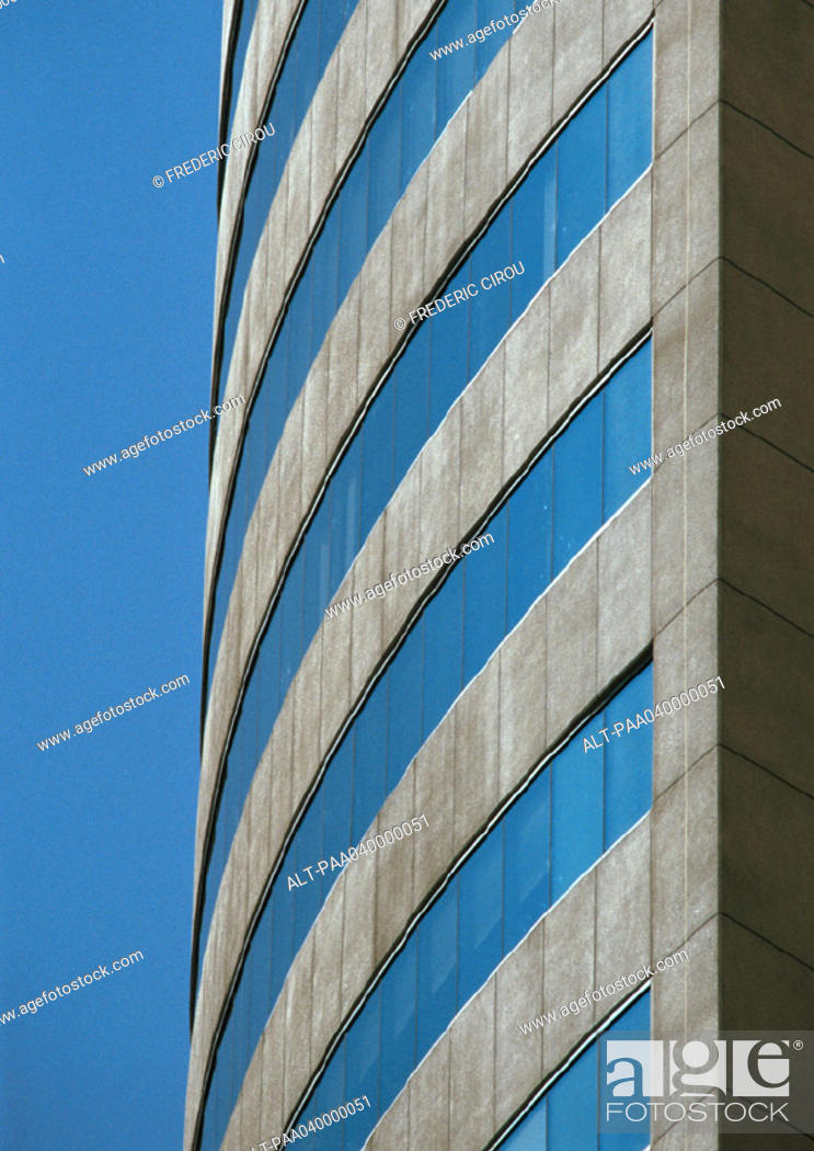 Stock Photo: Building's facade, close-up.