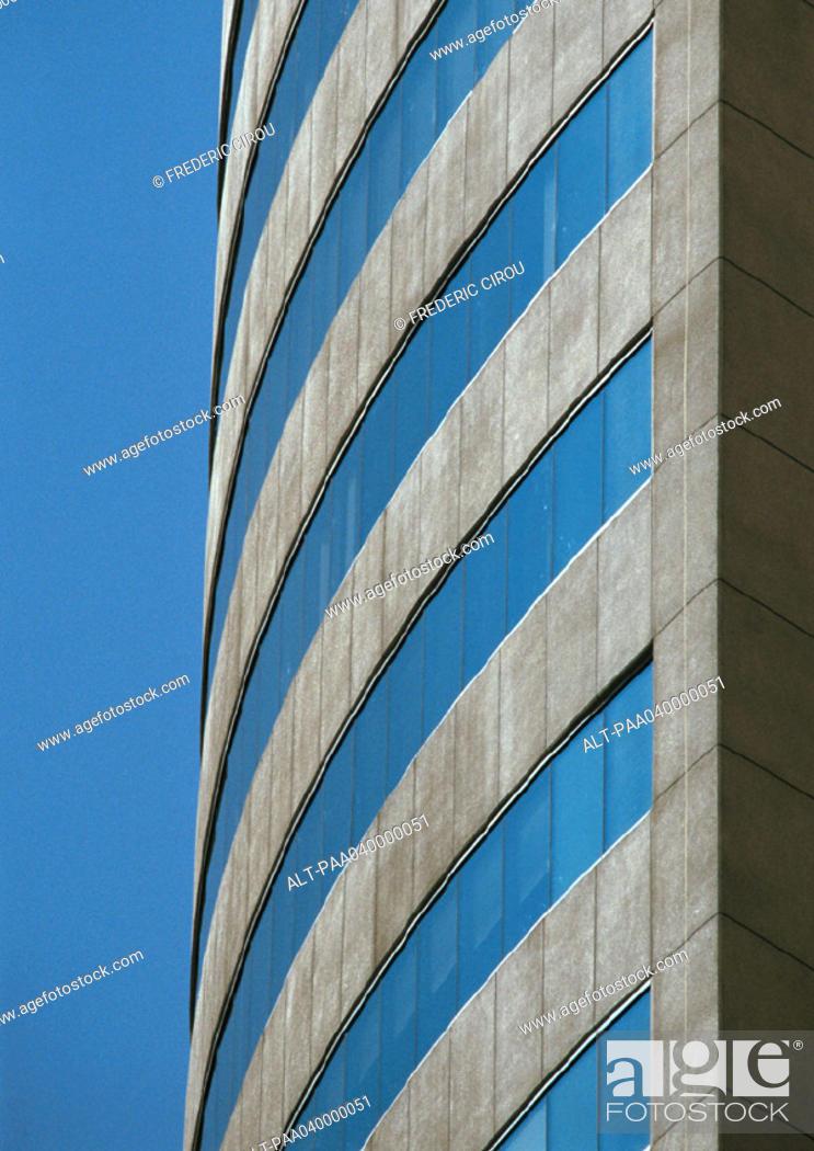 Stock Photo: Building's facade, close-up.