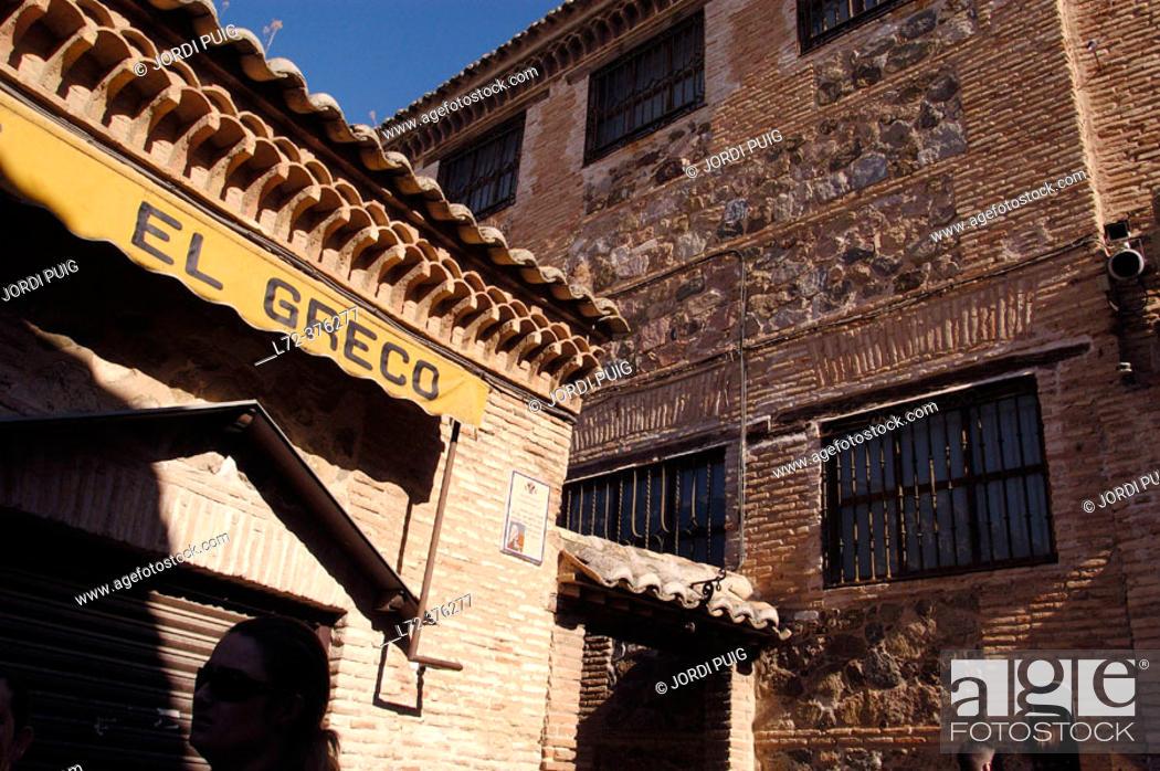 Stock Photo: Toledo old city. Spain.