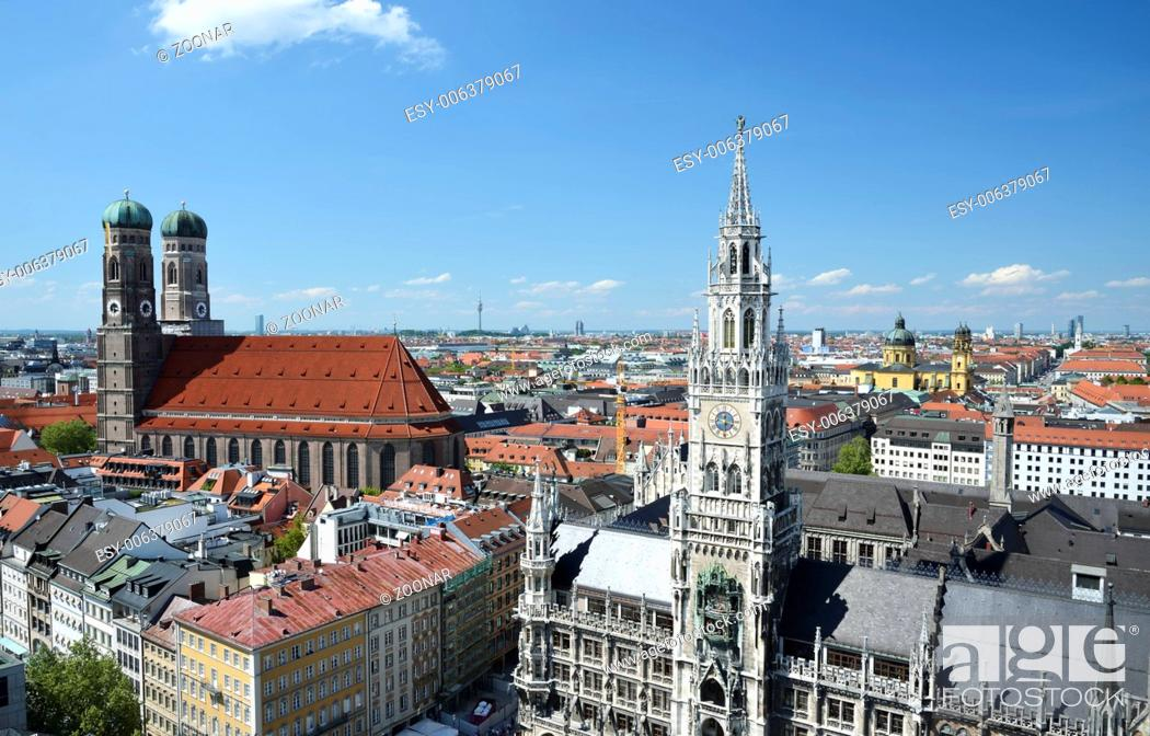 Stock Photo: Munich Landmarks.