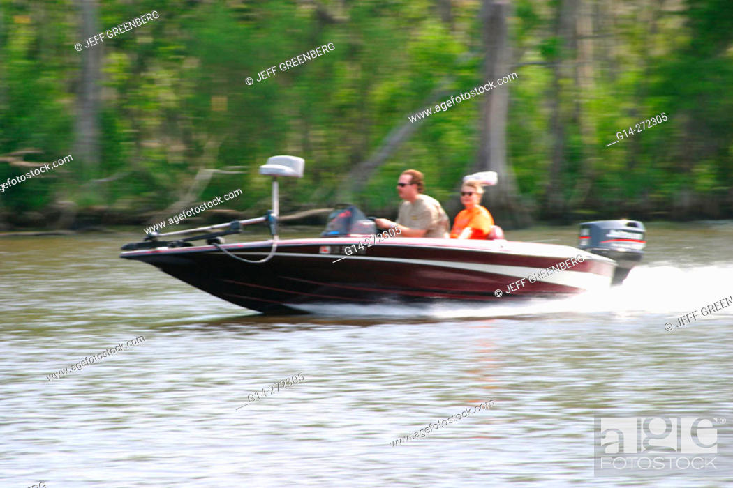 Boating along Tchefuncte River  Fairview-Riverside State Park  St