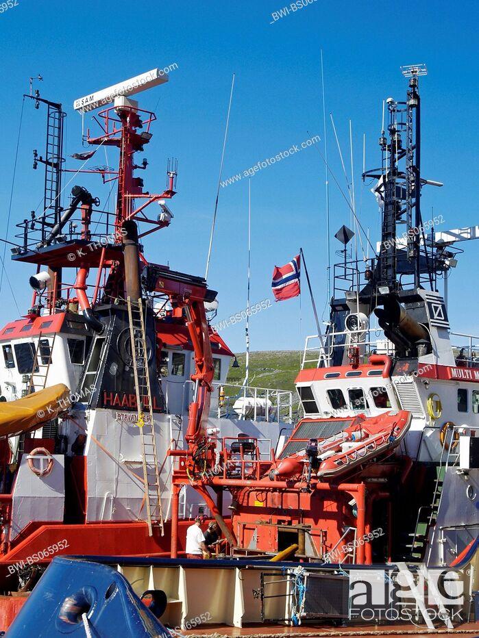 Imagen: Hammerfest, harbour, Norway, Finnmark, Hammerfest.