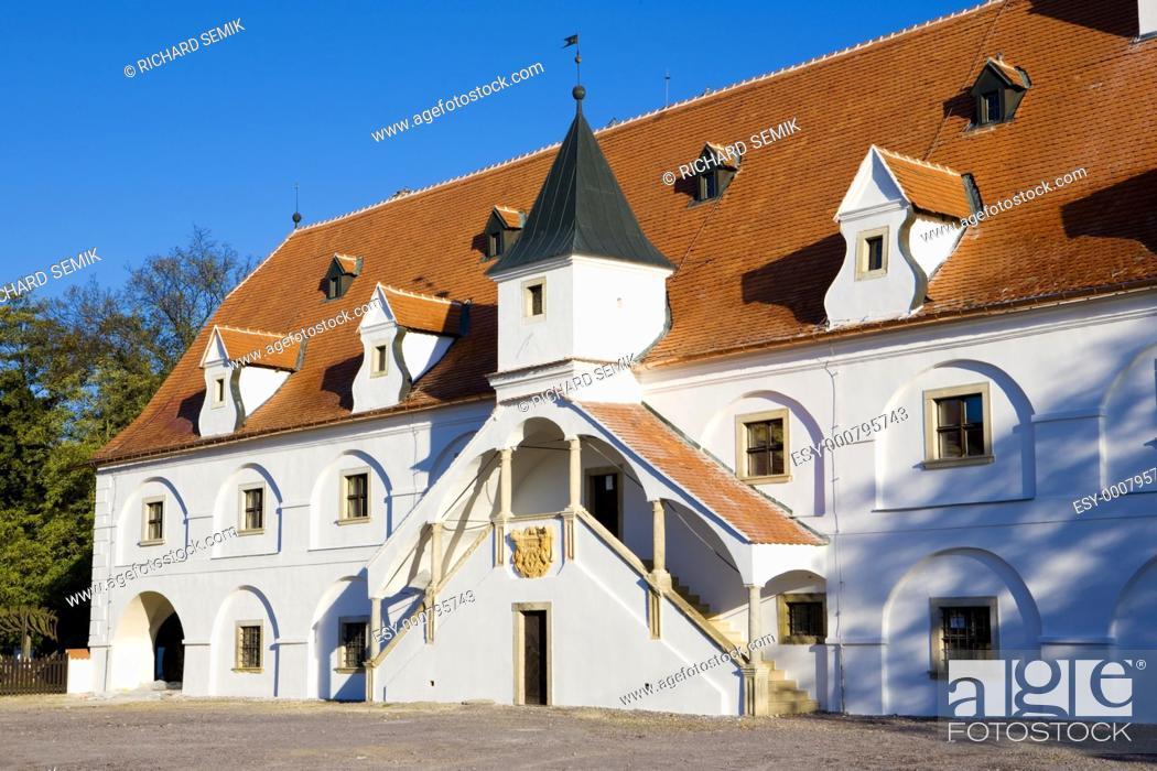 Stock Photo: water mill, Slup, Czech Republic.