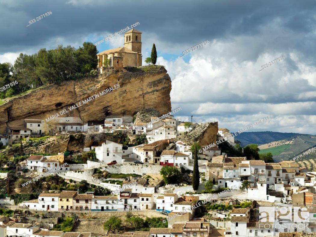 Stock Photo: Montefrio. Granada. Andalucia. Spain. Europe.