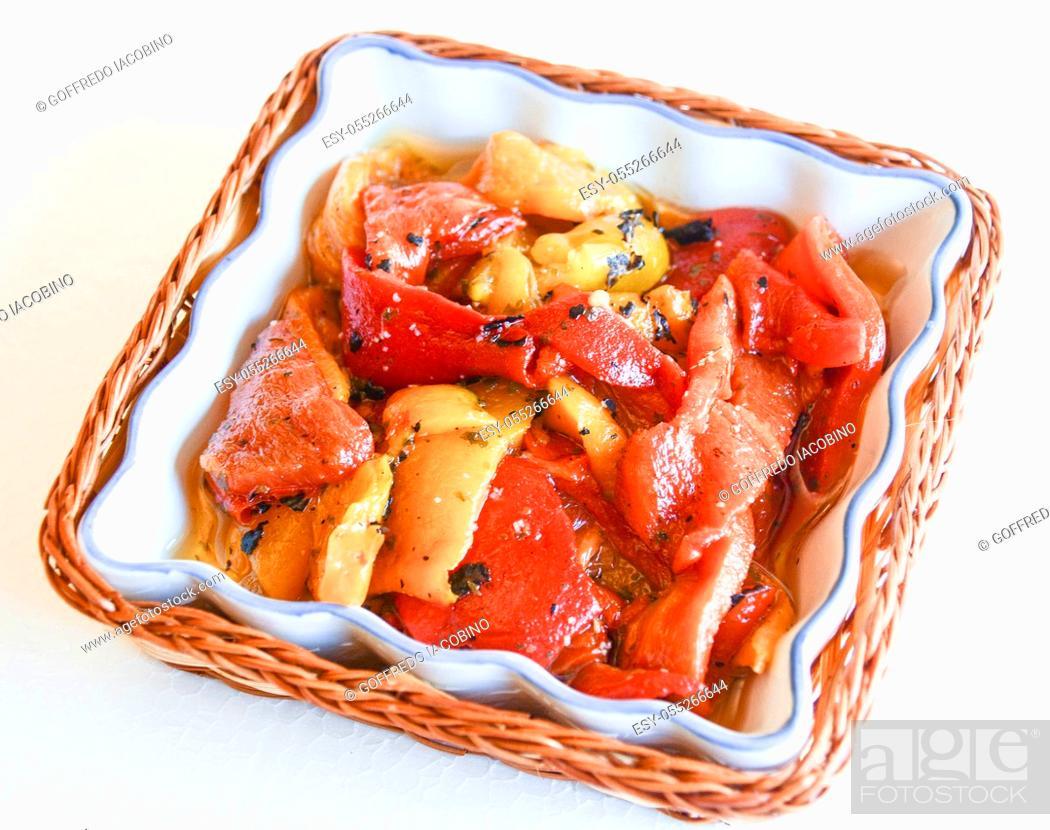 Stock Photo: finger food original of Italian fine cuisine.