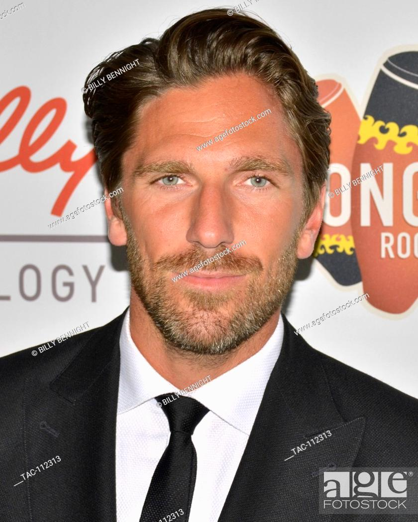 Henrik Lundqvist Arrives At The First Annual Sports Humanitarian Of