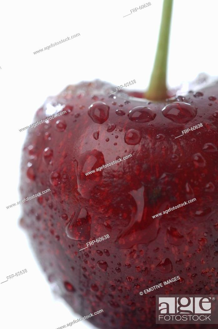 Stock Photo: Cherry, close up.