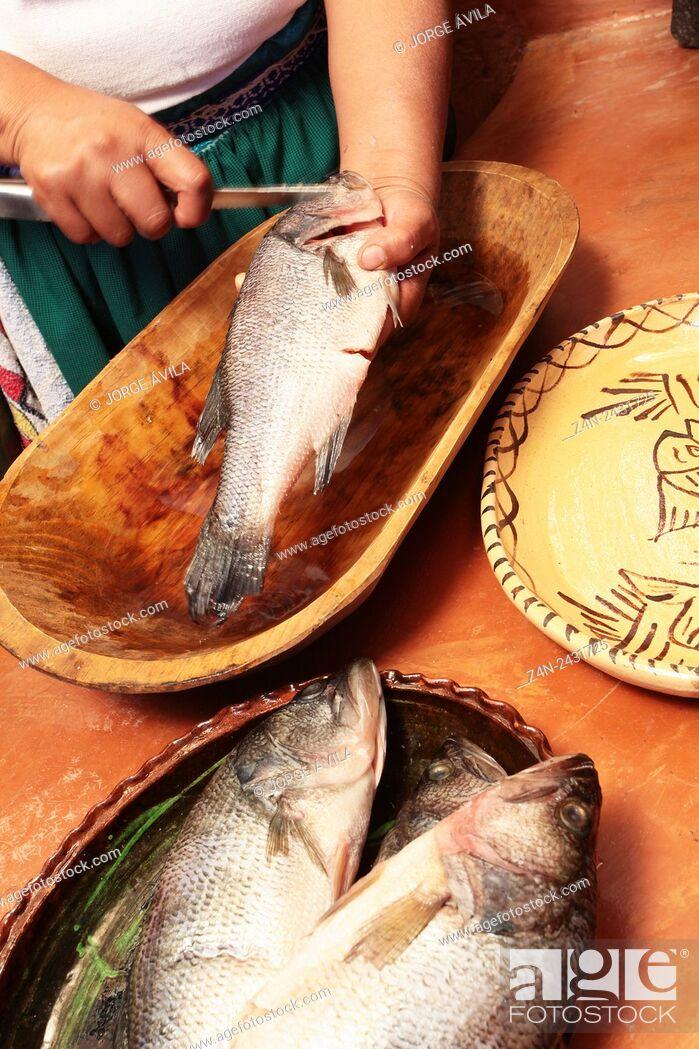Imagen: Mexican food, fish.