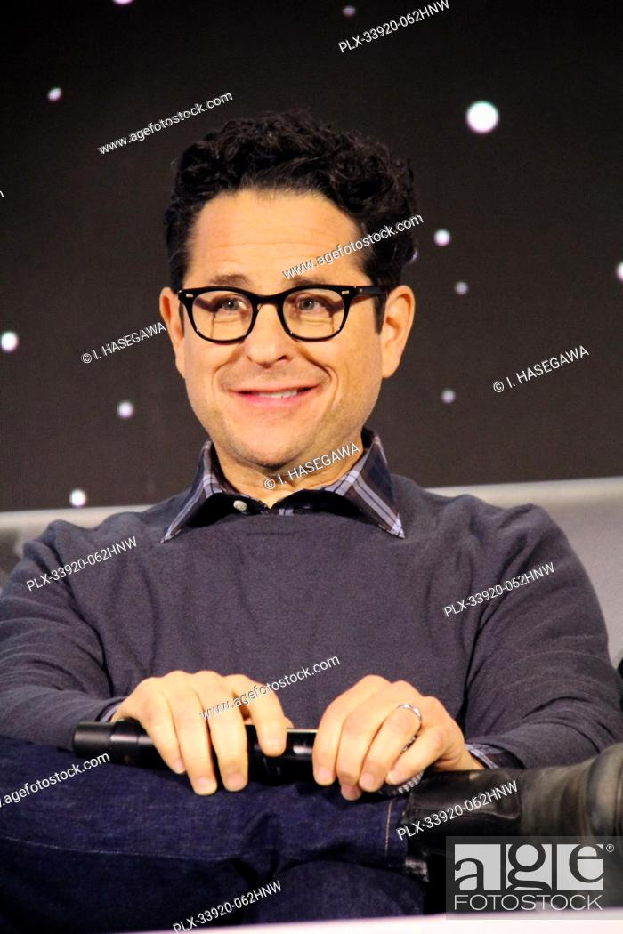 "Stock Photo: J.J. Abrams 12/04/2019 """"Star Wars: The Rise of the Skywalker"""" Press Conference held in Pasadena, CA. Photo by I. Hasegawa / HNW / PictureLux."