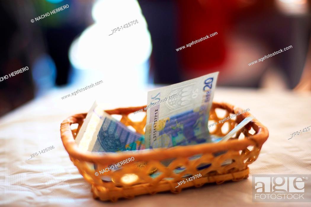 Stock Photo: 20 euro bills.