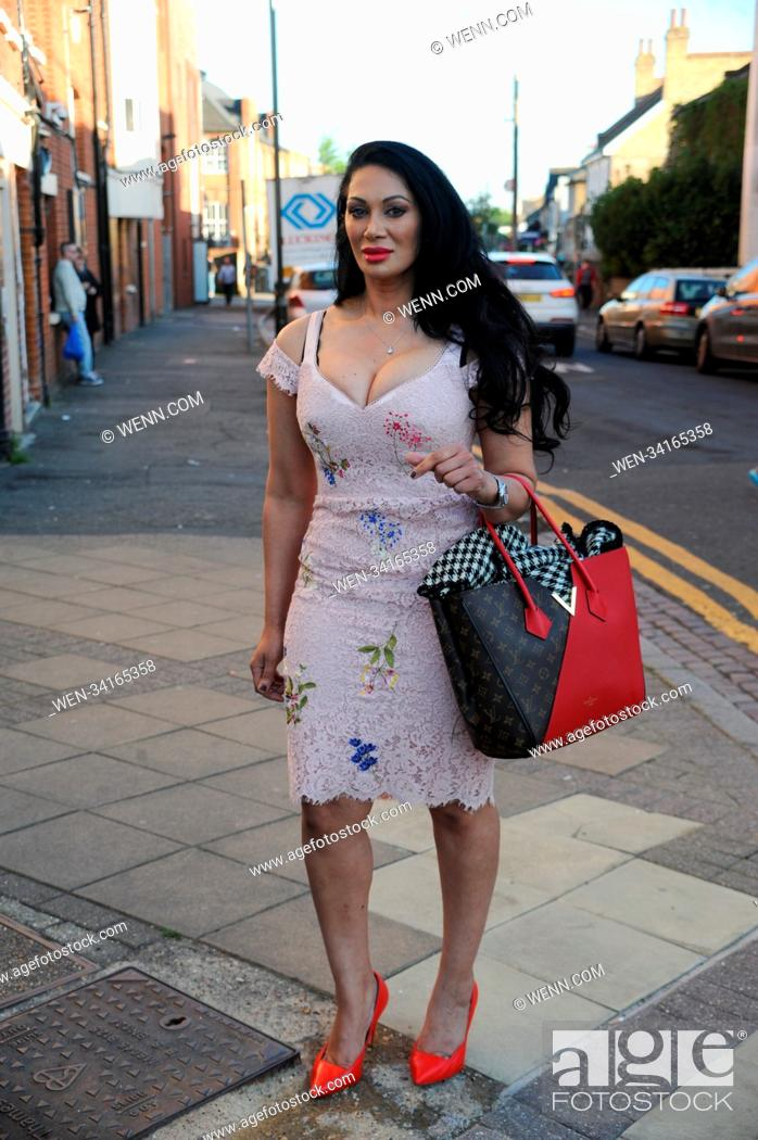 Stock Photo: Ballet at Wimbledon Theatre - Arrivals Featuring: Janine Nerissa Where: London, United Kingdom When: 05 May 2018 Credit: WENN.com.