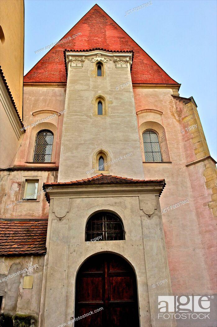 Stock Photo: Czech Republic, Prague, church.