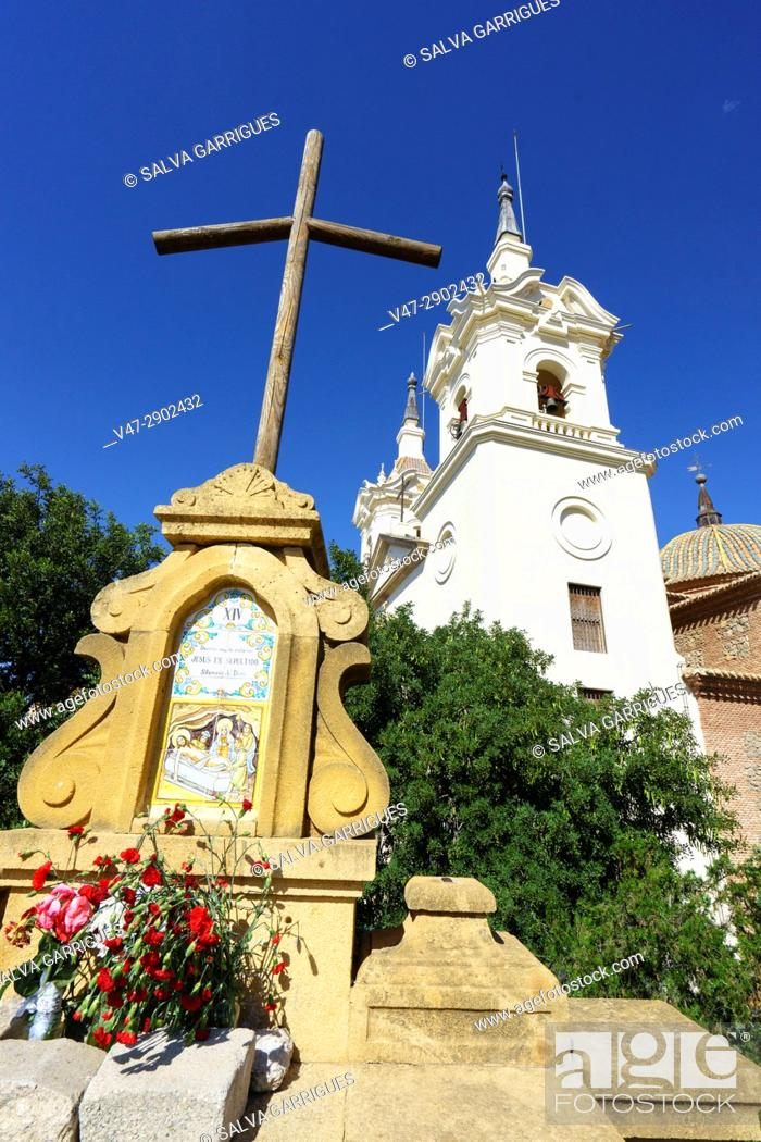 Stock Photo: Santuario de Nuestra Señora de la Fuensanta, Algezares, Murcia, España, Europa.