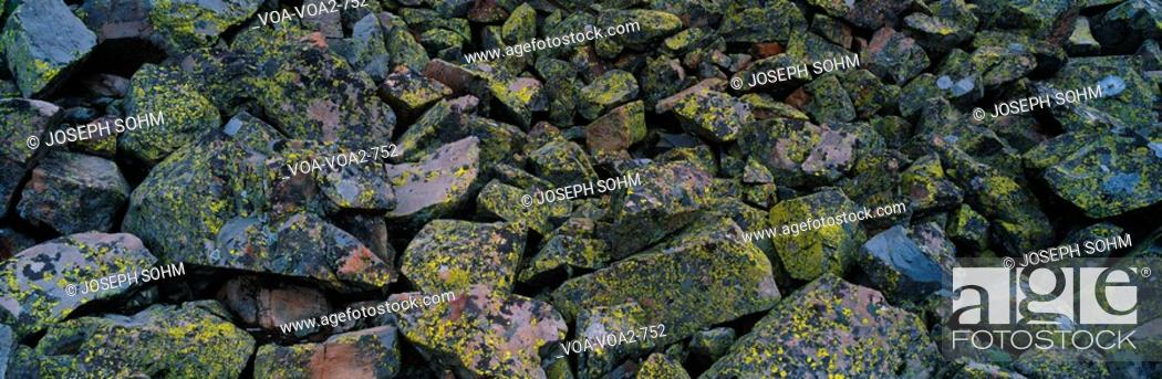 Stock Photo: This is a close up of a rock formation.