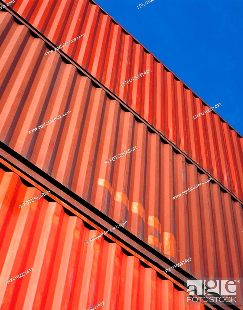 Stock Photo: Containers no.8.
