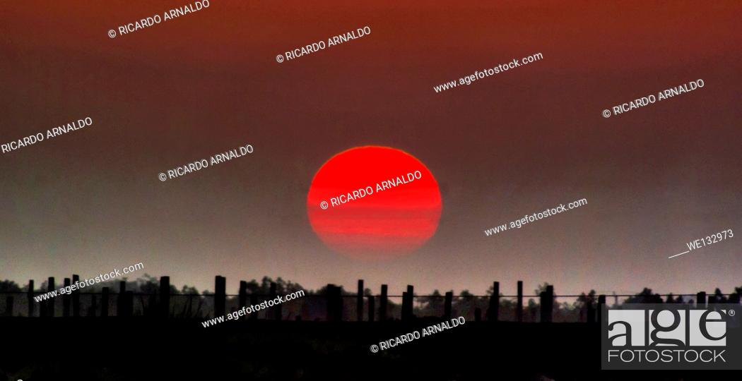 Stock Photo: Sunrise Near Miami.