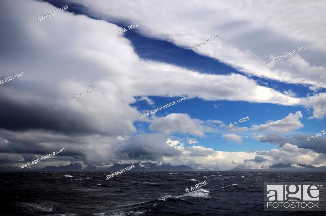 Imagen: South Georgia in the Southern Ocean, Antarctica, Suedgeorgien.
