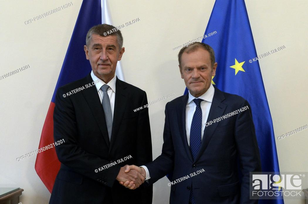 Stock Photo: Czech Prime Minister Andrej Babis (ANO), left, considers the strengthening of the member states' influence on the use of the EU subsidies the most important.