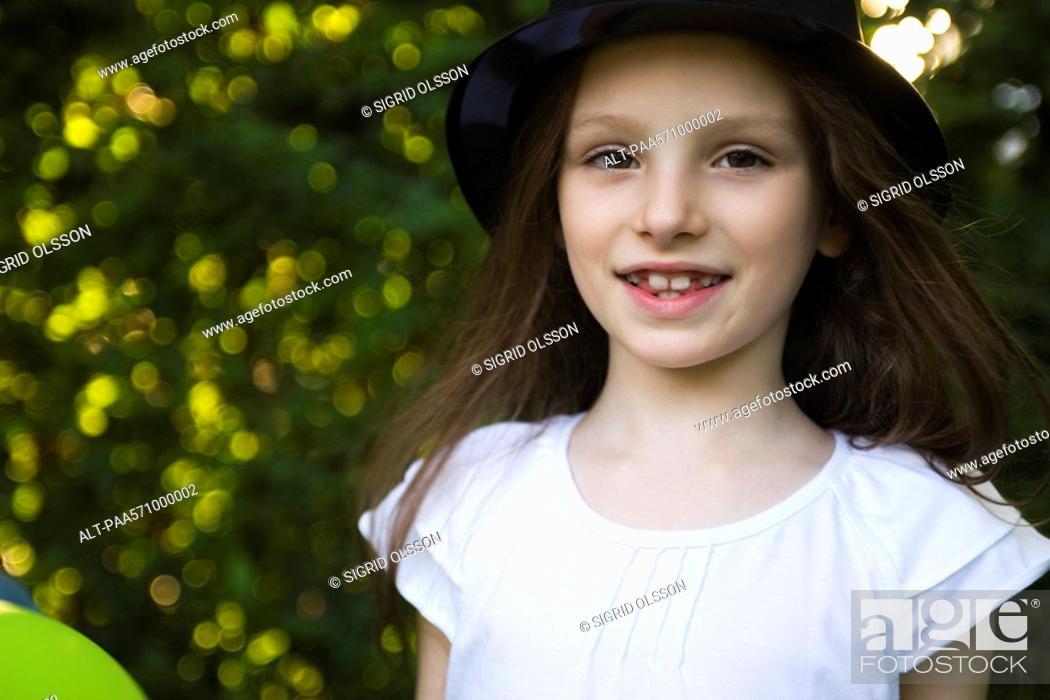 Stock Photo: Girl, portrait.