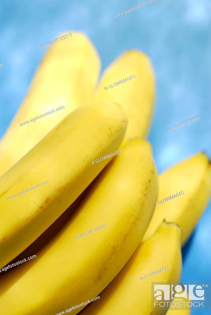 Stock Photo: Close-up of bananas.