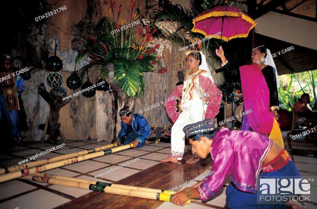 Stock Photo: Muslim Dance, Philippines.