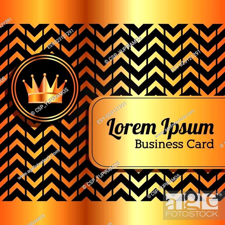 Stock Photo: business card.
