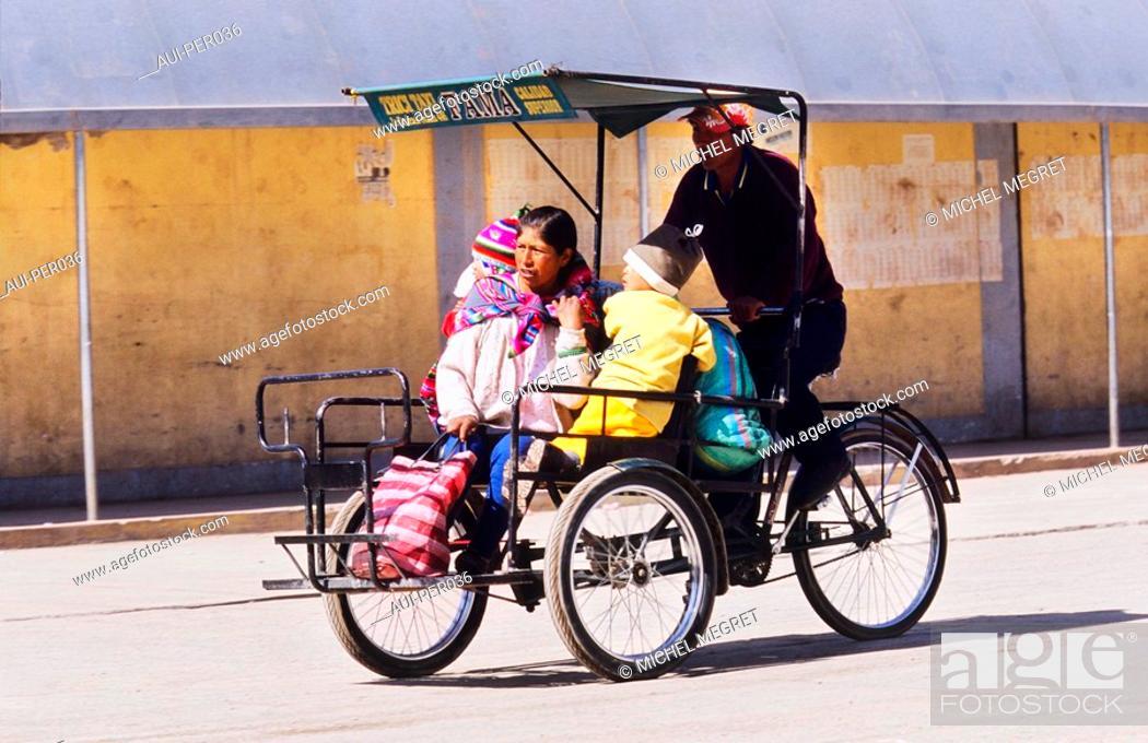 Stock Photo: Peru - Juliaca.