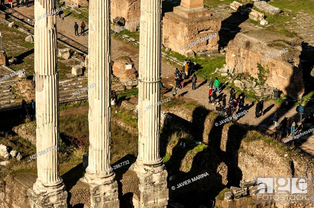 Stock Photo: Forum, Rome, Italy.
