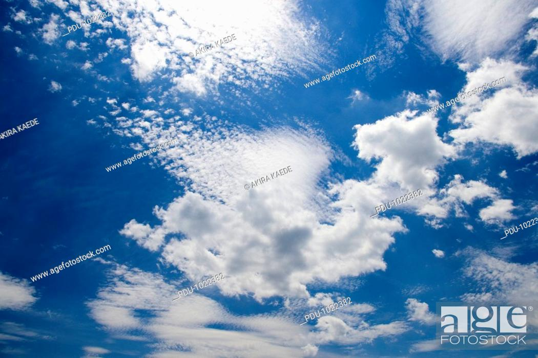 Stock Photo: Cloudscape.