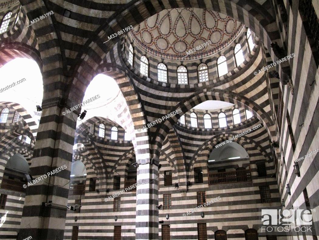 Stock Photo: Khan As'ad Pasha, Damascus, Syria.