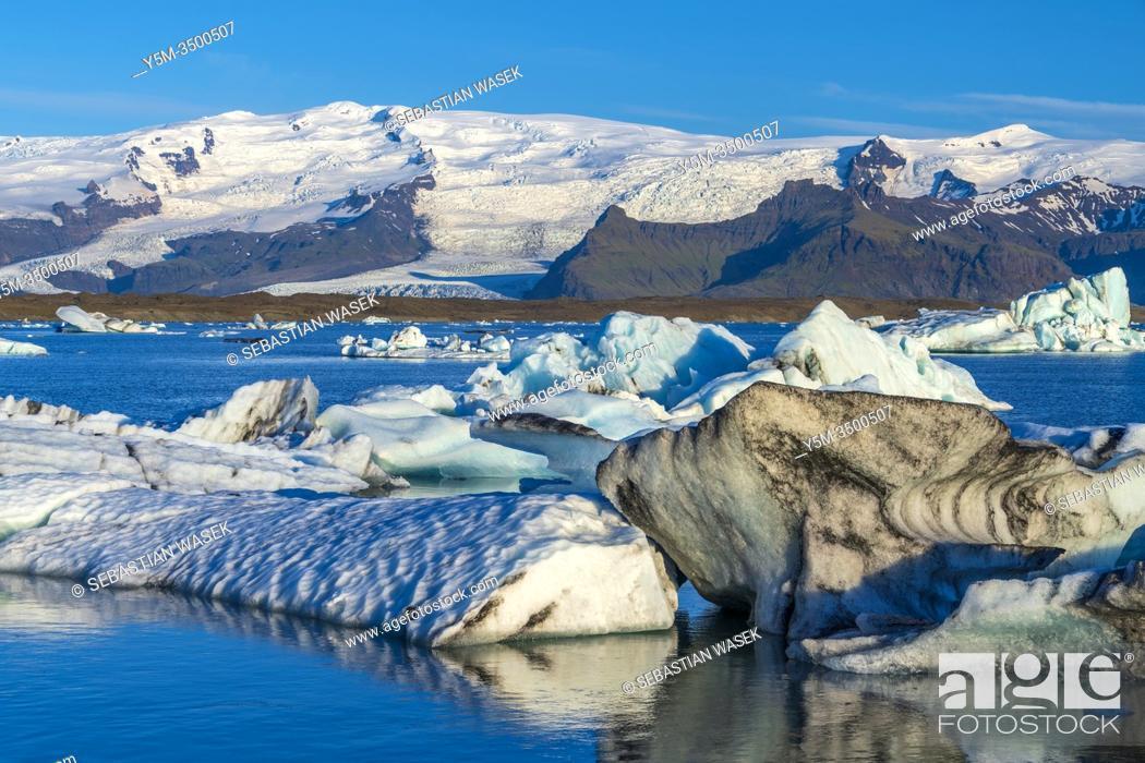 Imagen: Jökulsárlón glacial lagoon, Eastern Region, Iceland.