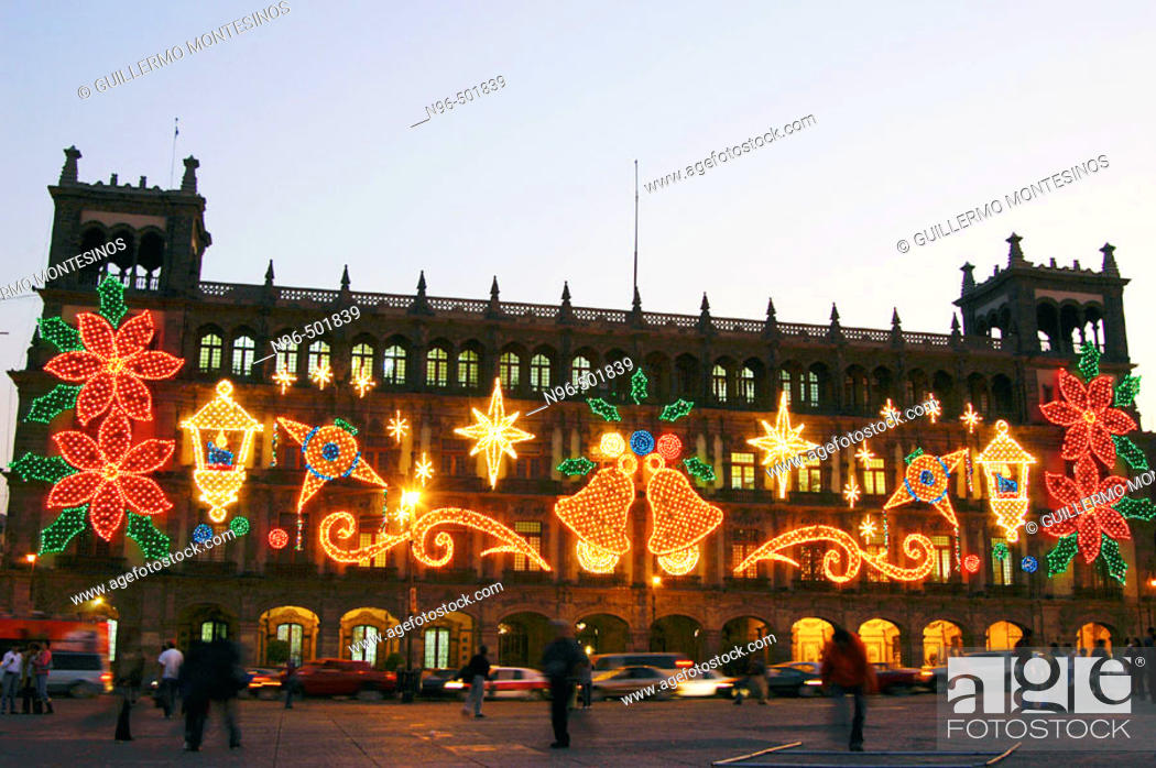 Images Of Zocalo In Mexico Christmas 2021 Christmas Light At Plaza De La Constitucion The Zocalo Mexico City Stock Photo Picture And Rights Managed Image Pic N96 501839 Agefotostock
