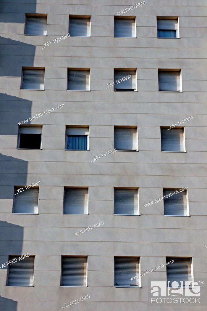 Stock Photo: homes, Cornella de Llobregat, Catalonia, Spain.