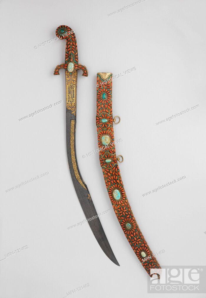 Sword (Kilij) with Scabbard  Date: 19th century