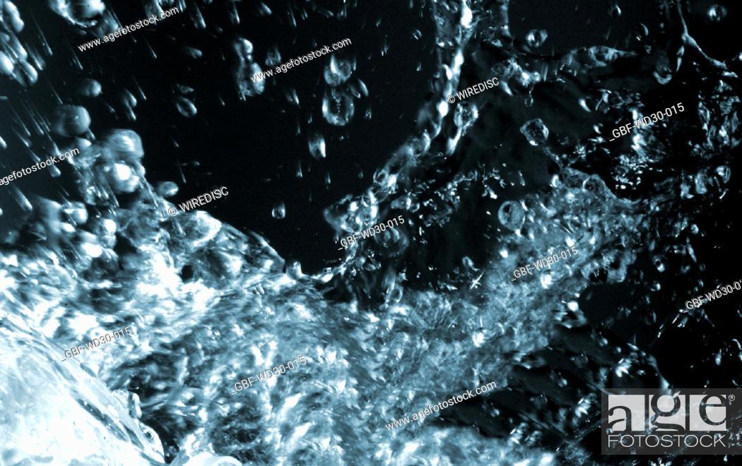 Stock Photo: Liquid, water.