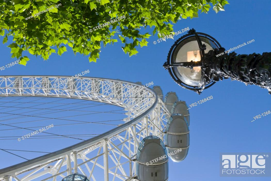 Imagen: London Eye, London, England.