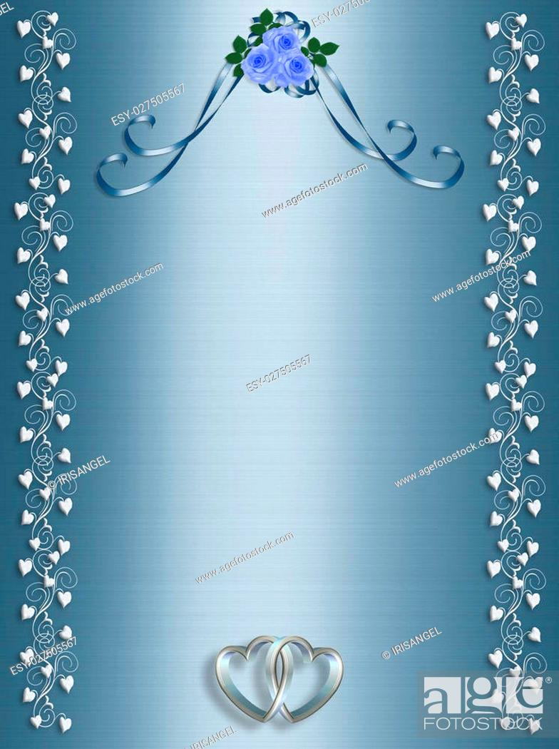 Illustration Composition For Wedding Invitation Valentine Stock Photo Picture And Low Budget Royalty Free Image Pic Esy 027505567 Agefotostock
