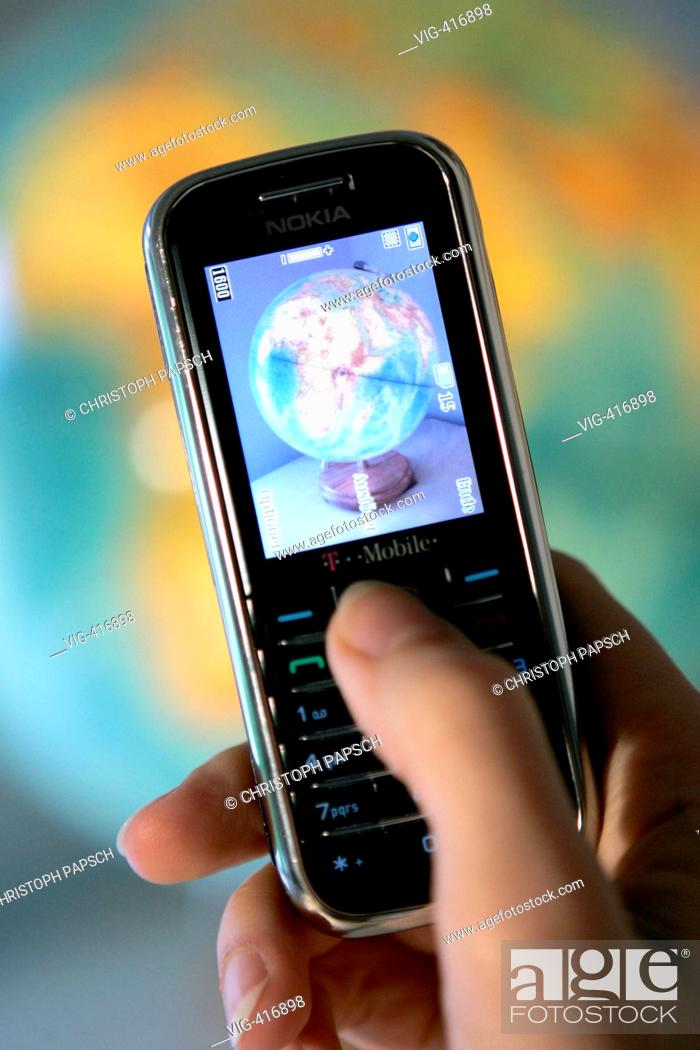 Universal mobile telecommunications system Stock Photos and