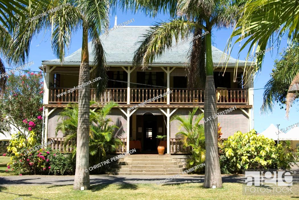 Le Jardin de Beau Vallon is a historic house and a restaurant in a ...