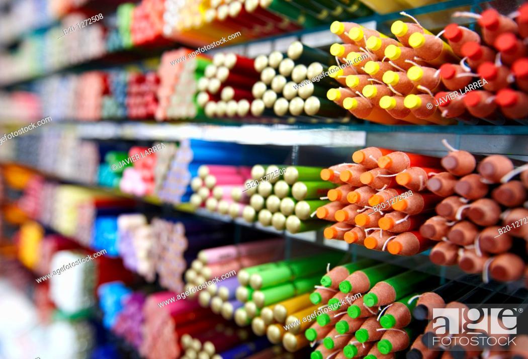 Stock Photo: Pens, Shinjuku district, Tokyo, Japan.