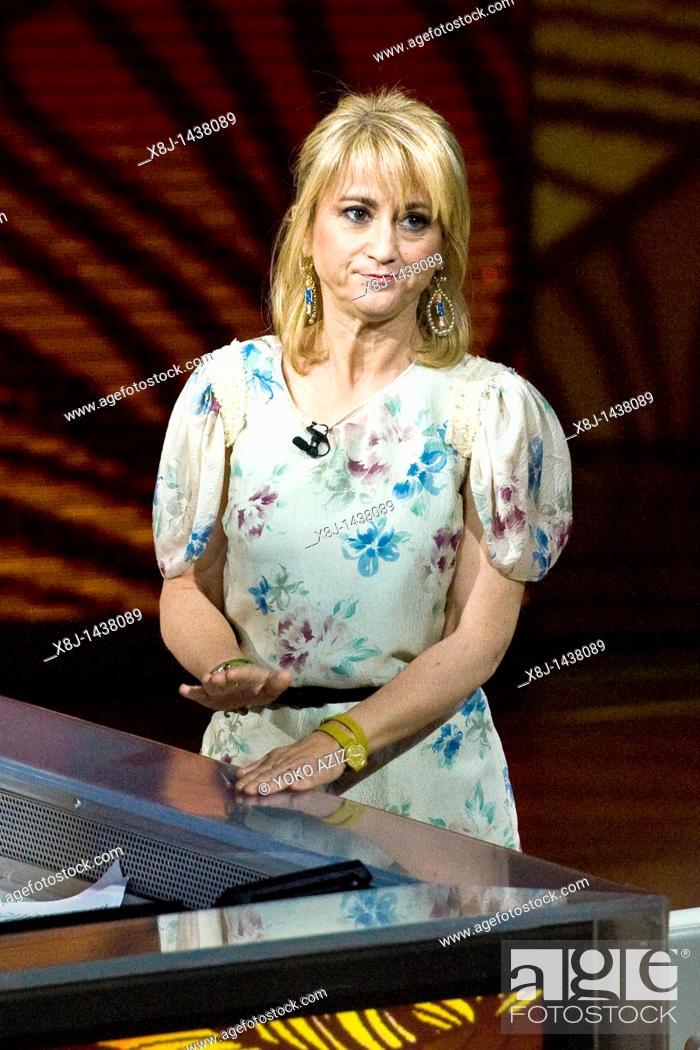 Imagen: 15 05 2011, Milan, Telecast RAI 3 'Che tempo che fa'  Luciana Littizzetto.