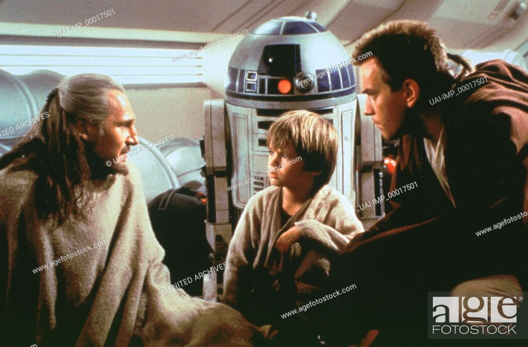 Stock Photo: Star Wars, (STAR WARS: EPISODE 1 - THE PHANTOM MENACE) USA 1999, Regie: George Lucas, LIAM NEESON, JAKE LLOYD, EWAN McGREGOR.